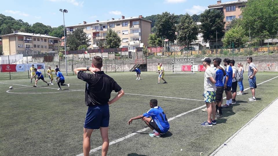 Inkluzivni nogometni turnir Tuzla - utakmica[6461]
